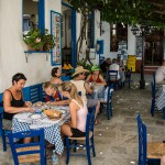 Taverna Blue Chair in Vourliotes
