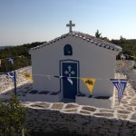 Great viewpoint from another Profitis Ilias chapel